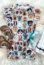 UpBaby Puppy Love Short Sleeve Romper