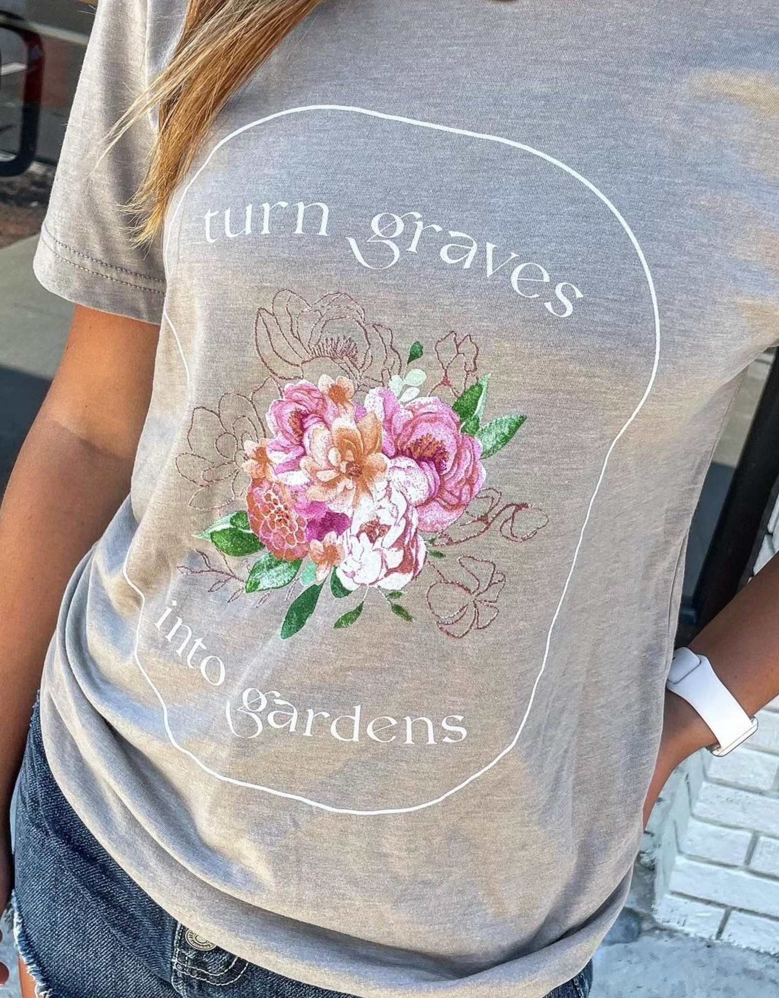 Graves into Gardens Tee