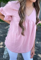 Layla Top in Mauve