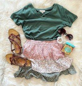 Hayden Reese Skirt in Pink  Floral