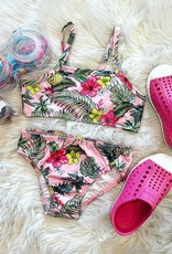 Quimby Pink Two-Piece Swimsuit