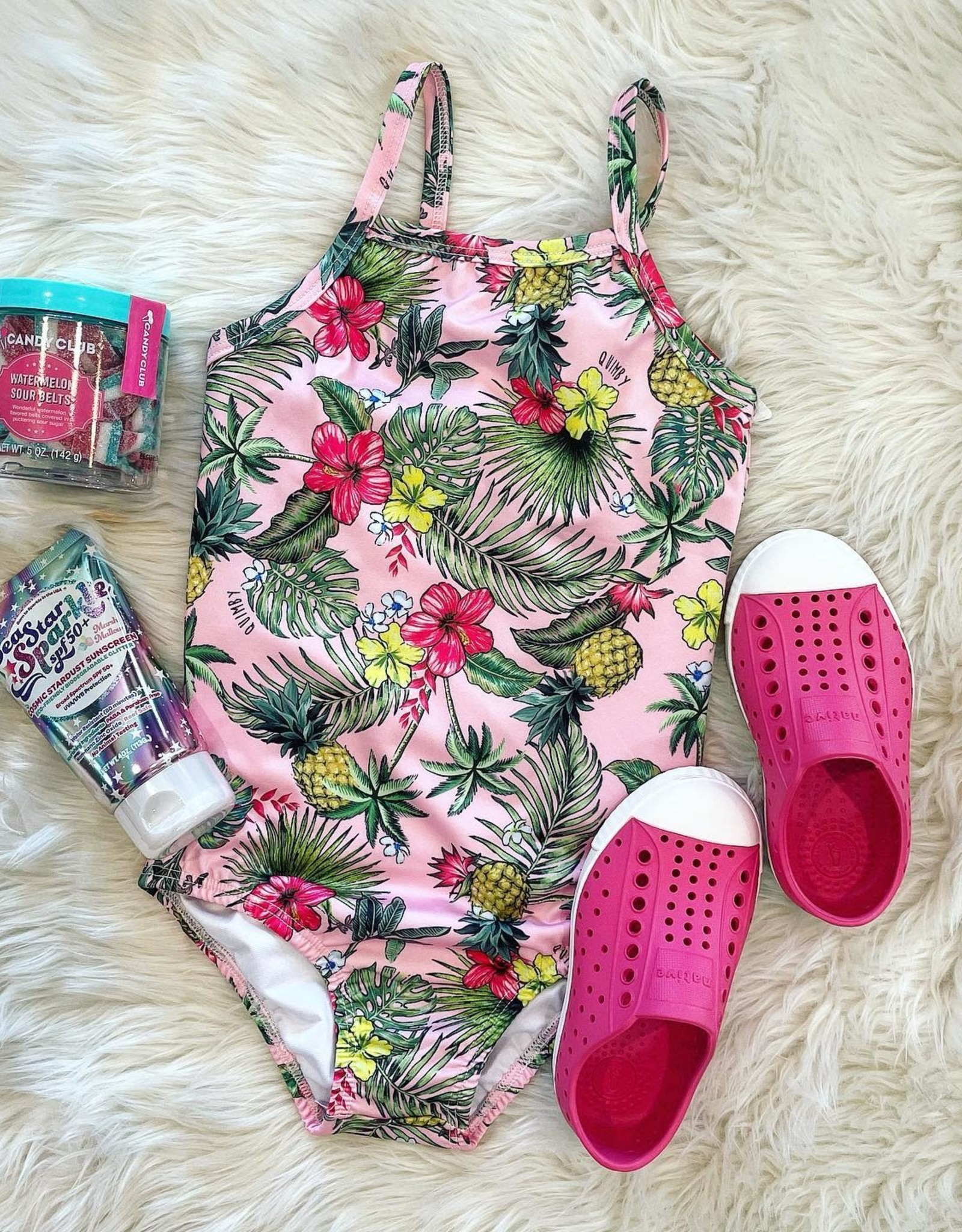 Quimby Pink Swimsuit