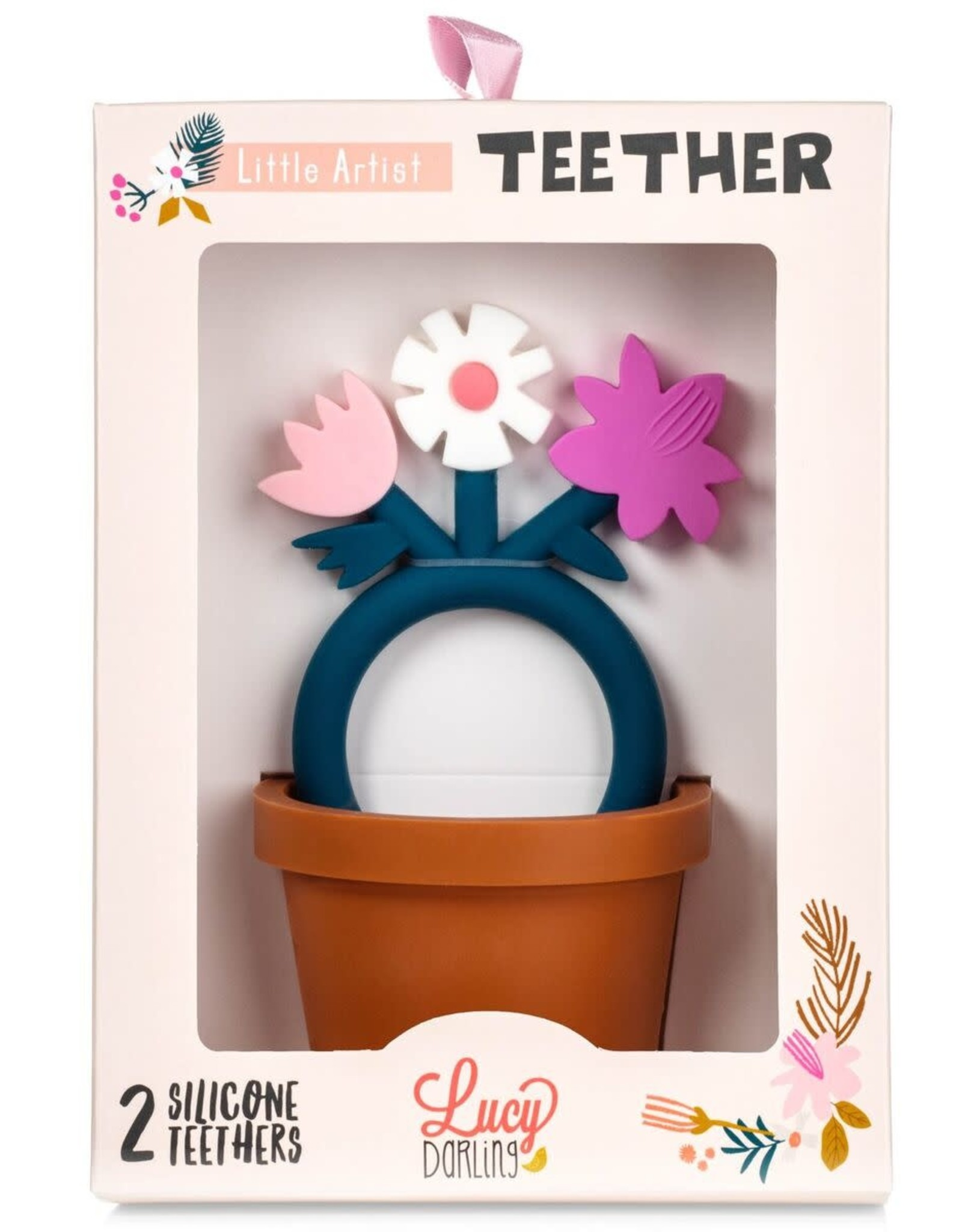 Lucy Darling Little Artist Teether Toy