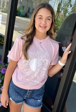 He Makes All Things New Tee in Blush