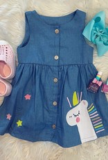 Honeydew Holly Unicorn Dress