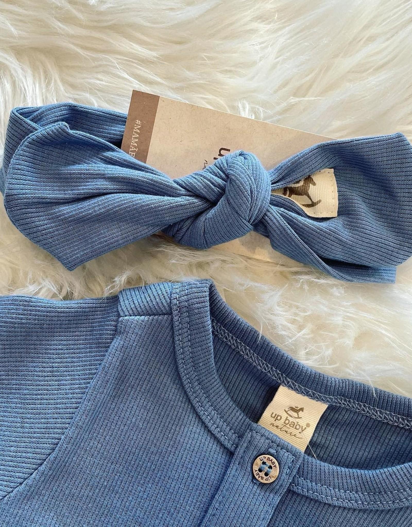 UpBaby Ribbed Headband in Blue