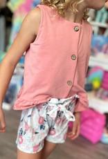 Honeydew Harper Short Set in Pink Floral