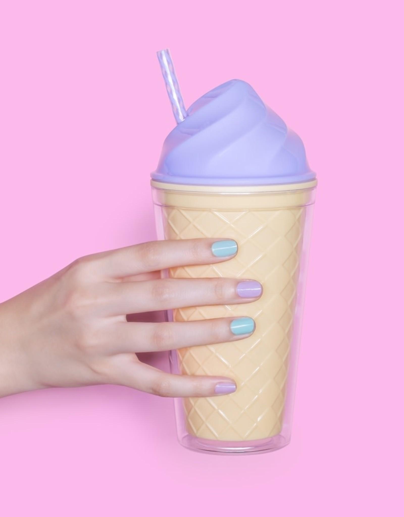 Ice Cream Tumbler in Purple