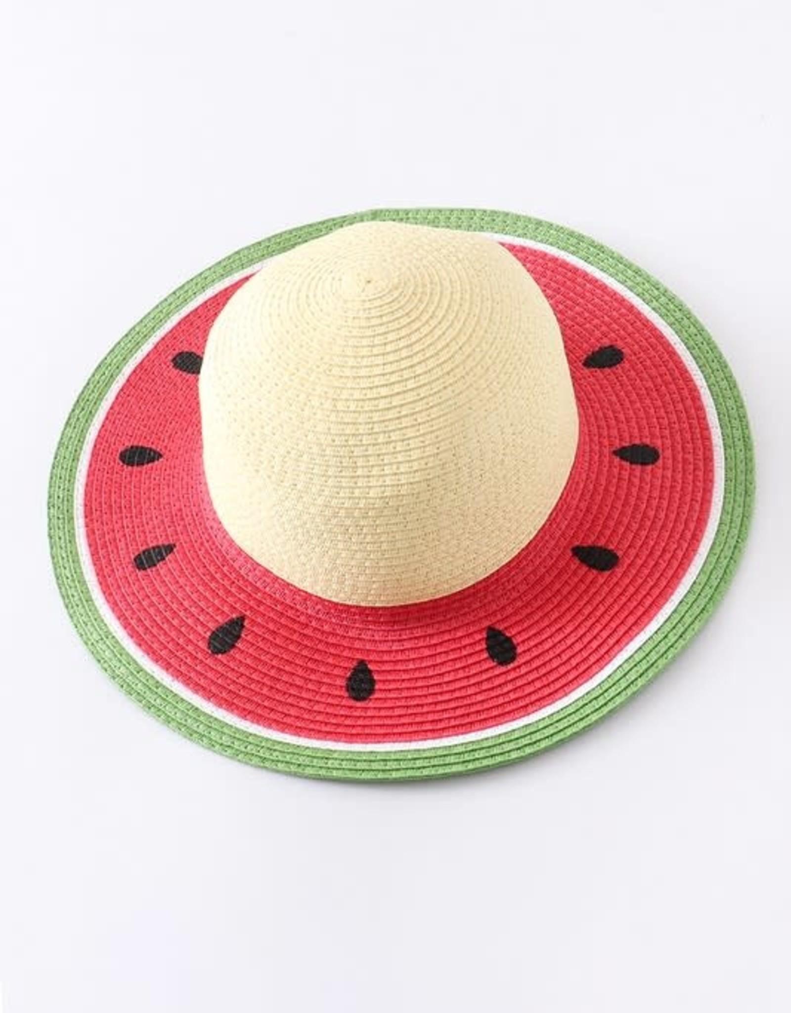 Honeydew Willow Watermelon Beach Hat