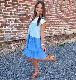 Rebecca Dress in Blue