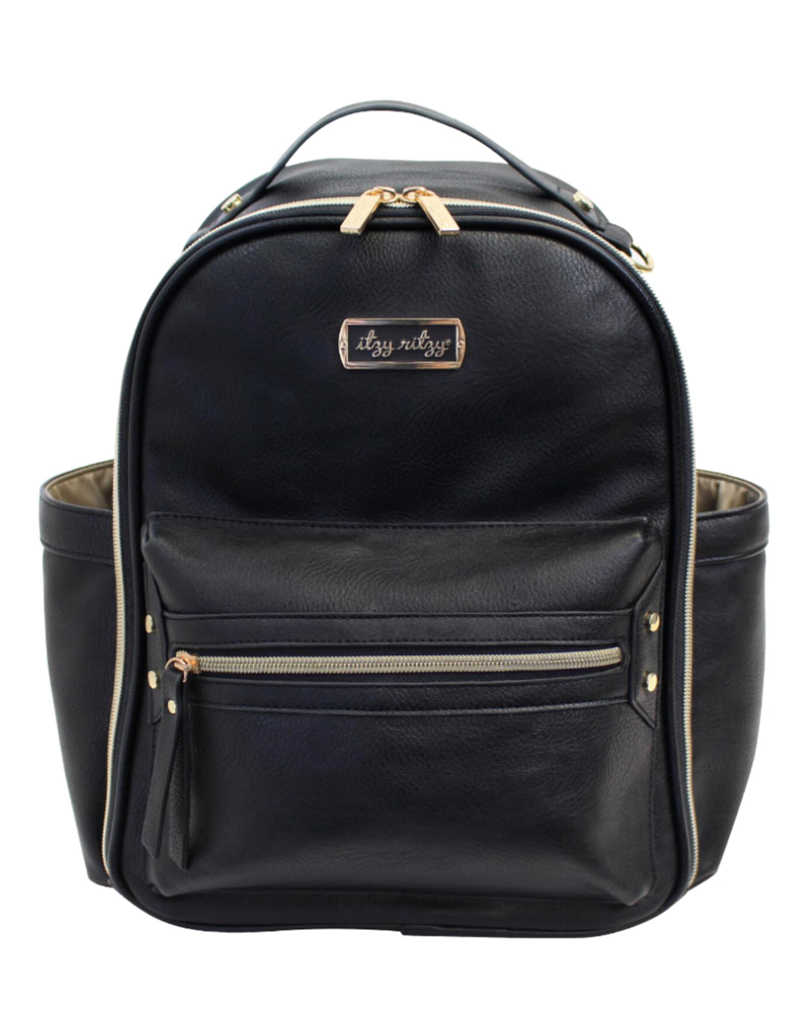 Itzy Ritzy Black Itzy Mini™ Diaper Bag Backpack