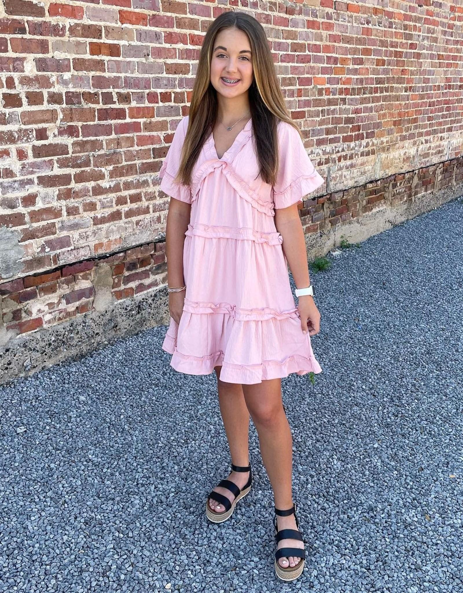 Alexa Dress in Pink