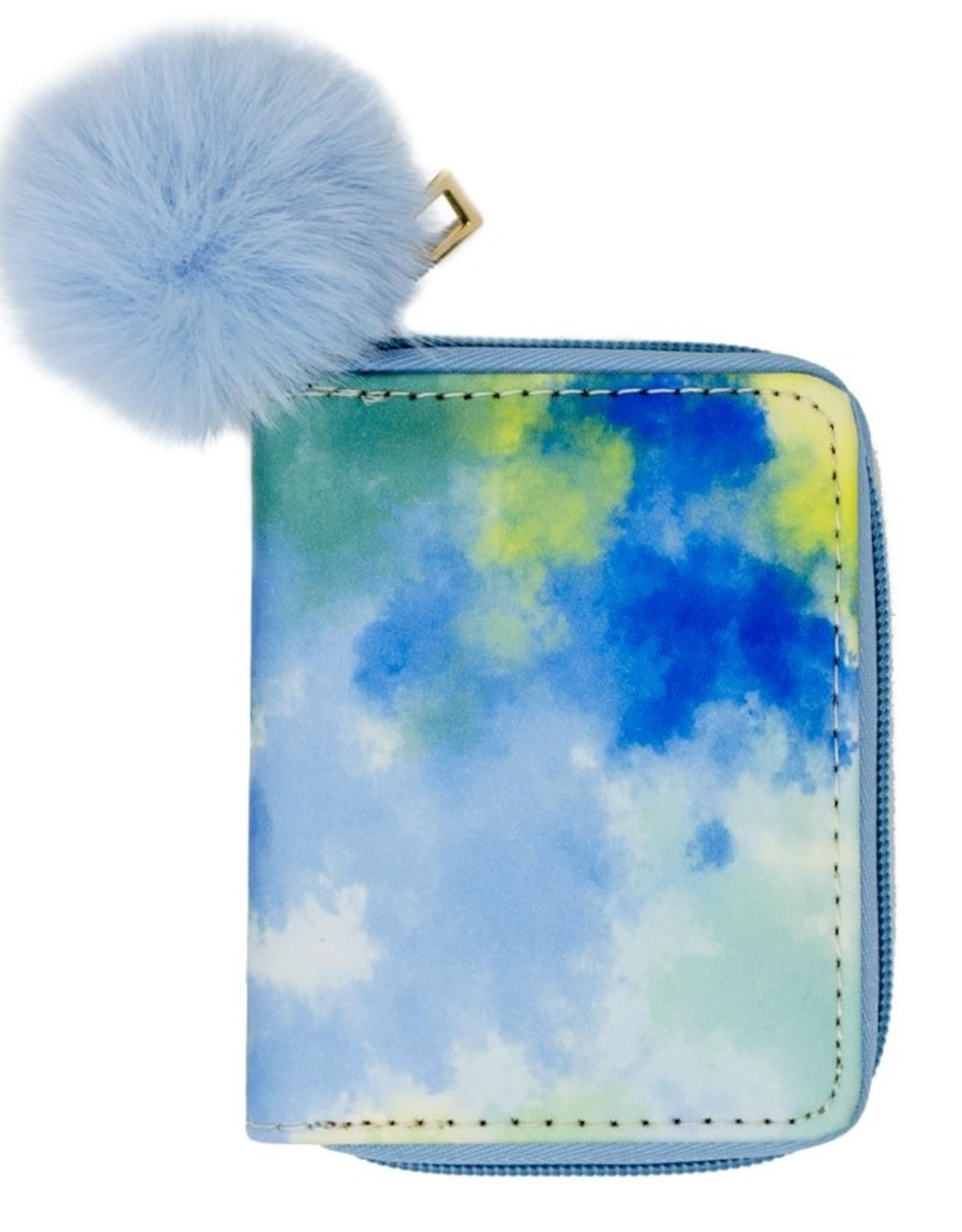 Zomi Gems Blue Tie Dye Wallet