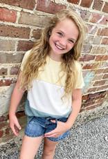 Hayden Lauren Colorblock Top
