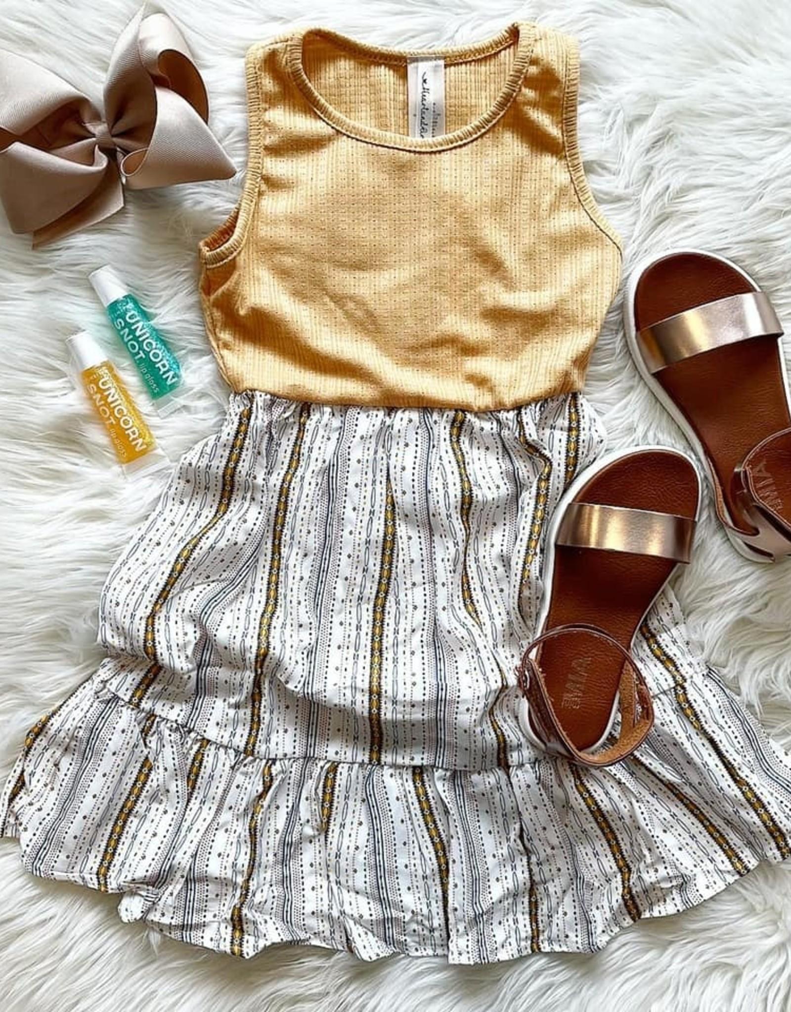 Rena Dress in Honey