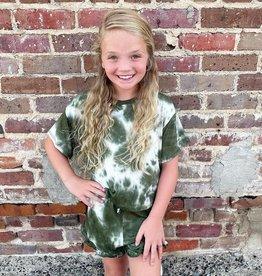 Good Girl Olivia TieDye Set in Olive