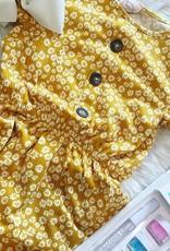 Aubrey Dress in Mustard