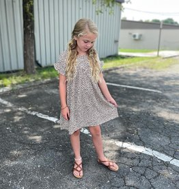 Hayden Charlotte Dress in Taupe