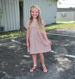 Hayden Charlotte Dress in Mauve