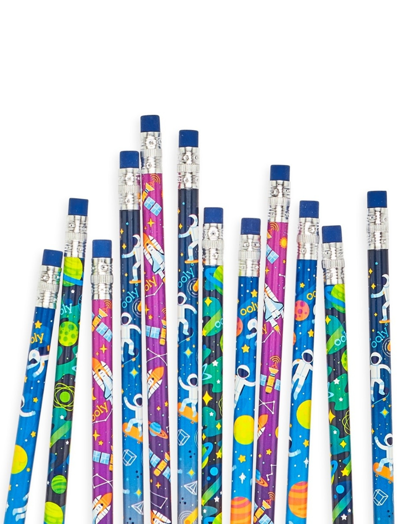 ooly Astronaut Graphite Pencils - Set of 12