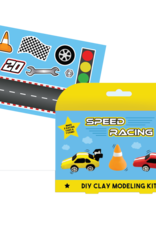 Iscream Speed Racing DIY Clay Modeling Kit