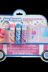 Iscream Ice Cream Truck Lip Balm and Gloss Set