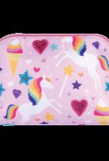 Iscream Magical Unicorn Oval Cosmetic Bag
