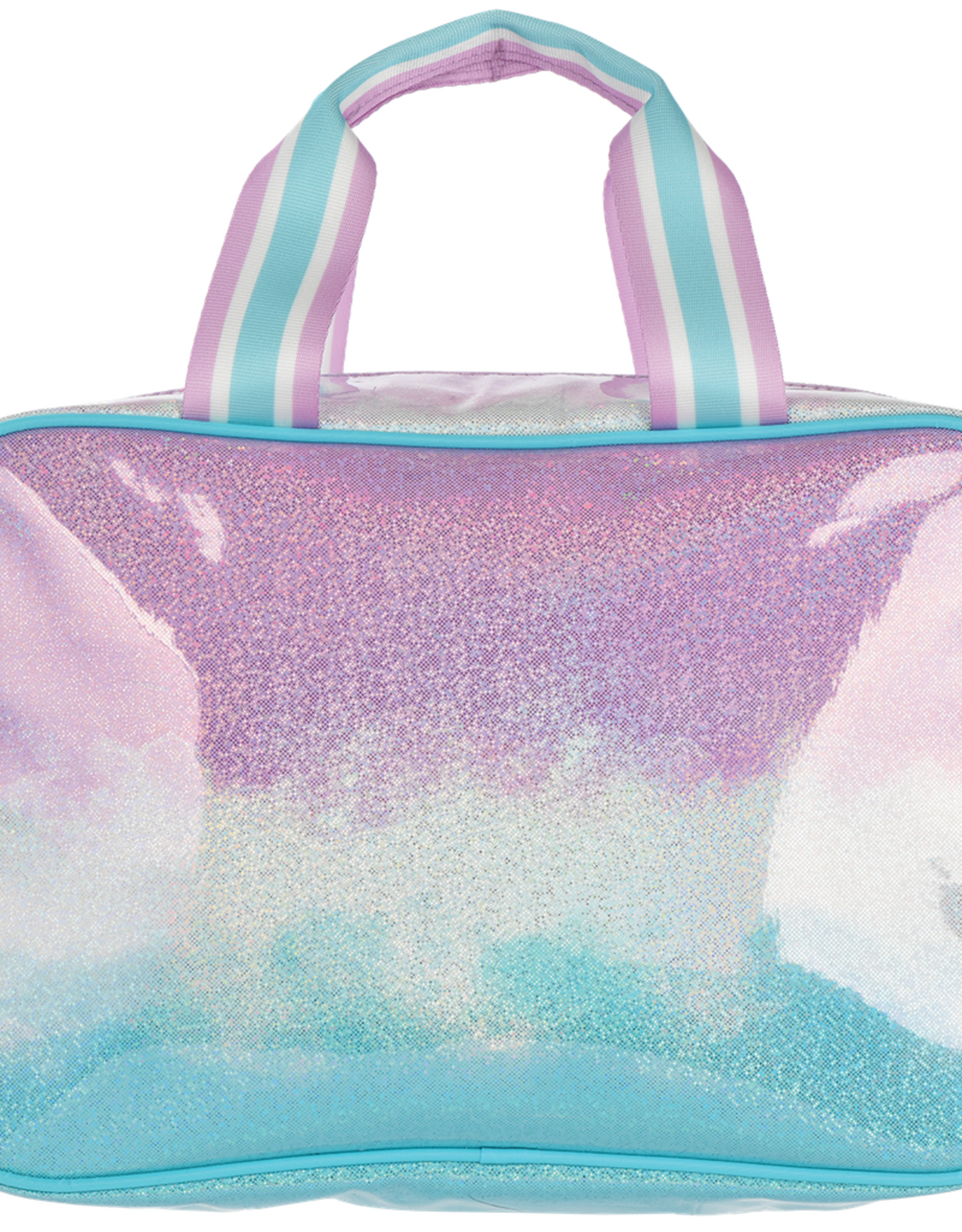 Iscream Ombre' Sparkly Large Cosmetic Bag