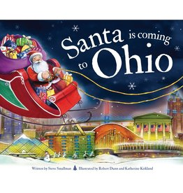 Sourcebooks Santa is Coming to Ohio
