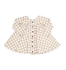 Be Girl Clothing Maple Check Trapeze Tunic