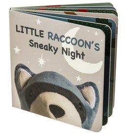 Mary Meyer Leika Little Raccoon Board Book