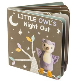 Mary Meyer Leika Little Owl Board Book