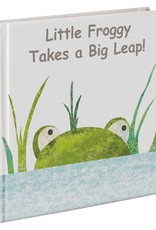 """Mary Meyer """"Little Froggy Takes a Big Leap!"""" Board Book"""