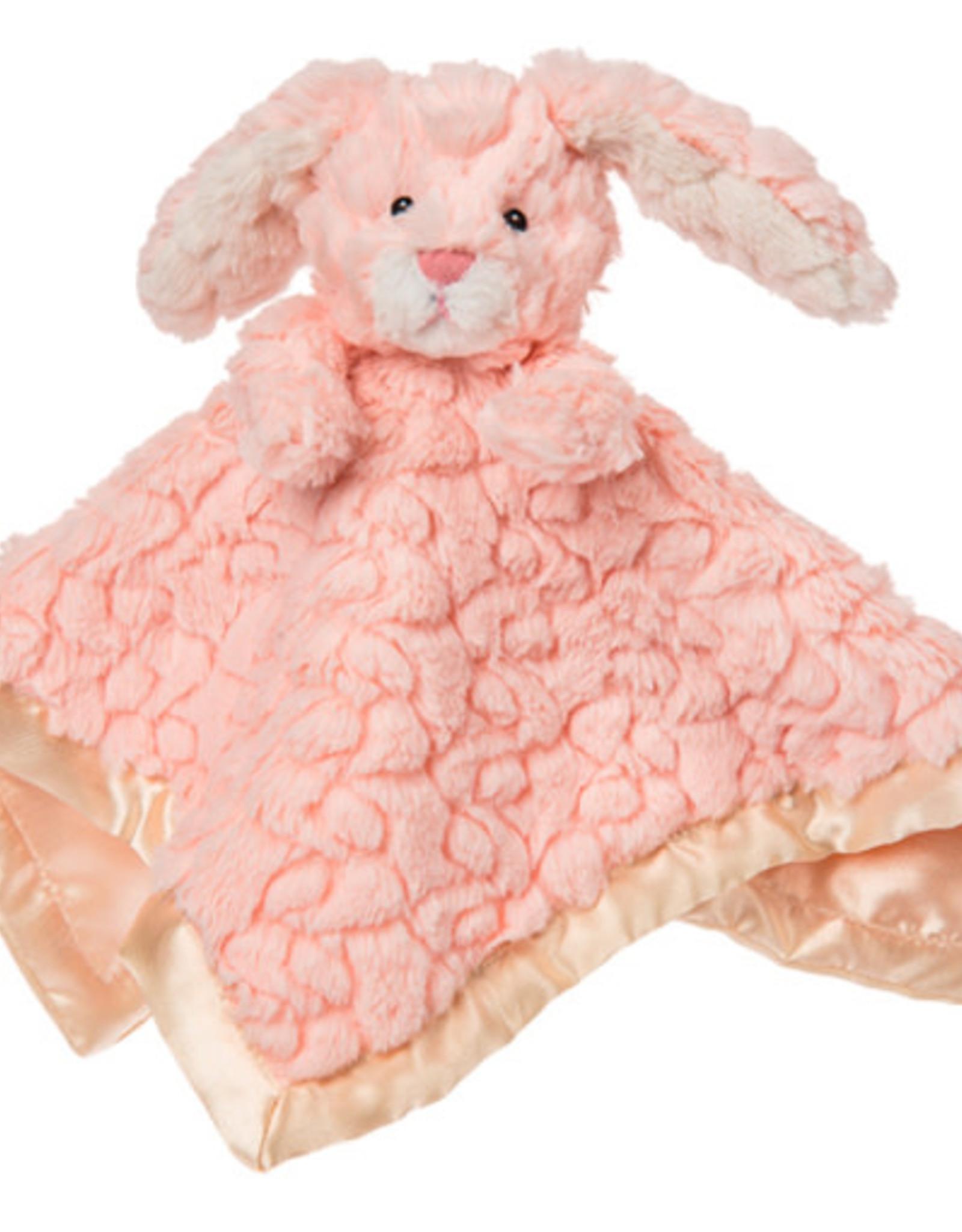 Mary Meyer Putty Nursery Bunny Character Blanket – 13×13″
