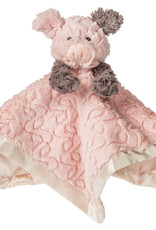 Mary Meyer Putty Nursery Piglet Character Blanket – 13×13″