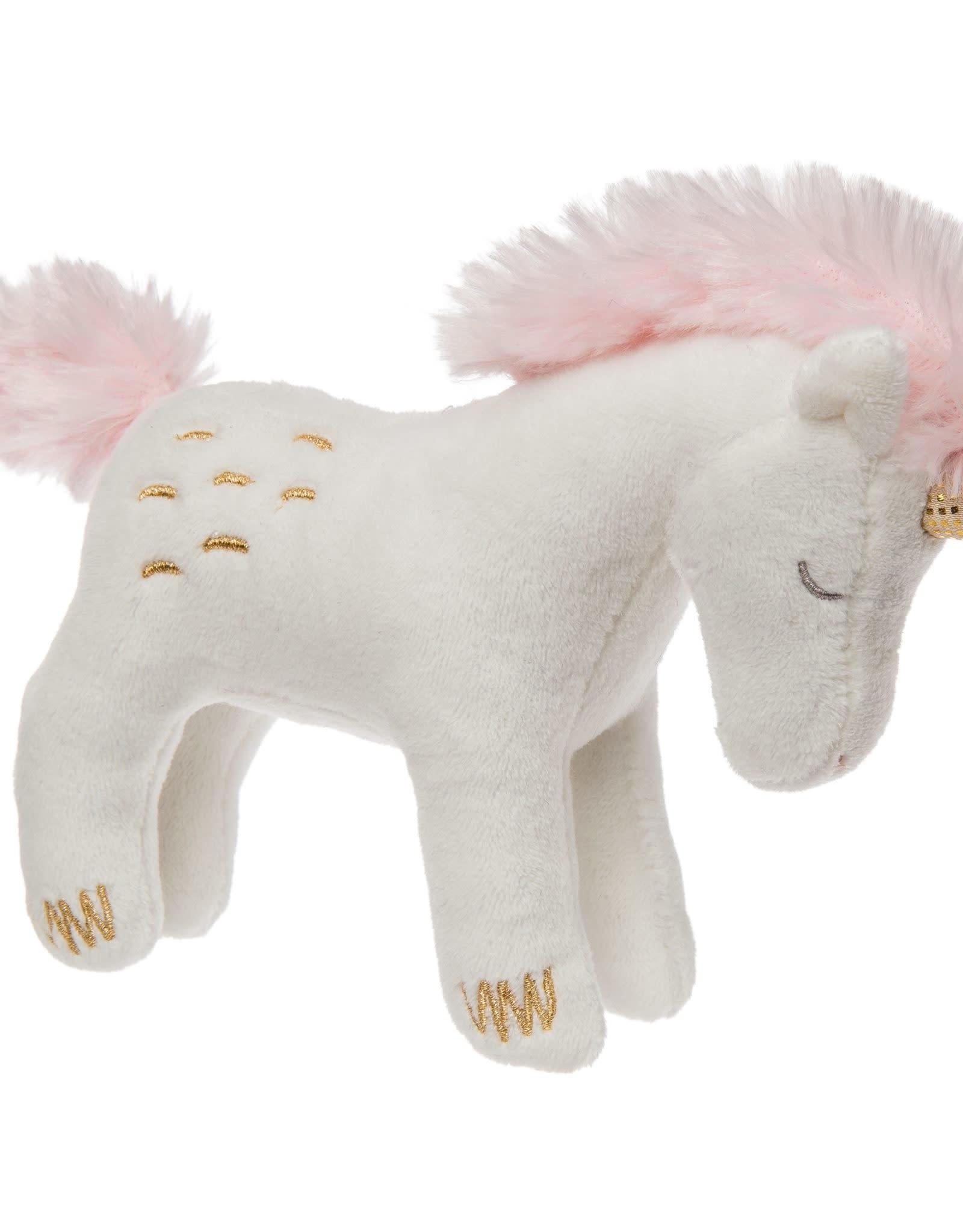 Mary Meyer Twilight Baby Unicorn Rattle – 5″
