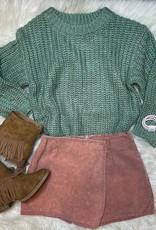 Sadie  & Sage Silverwood Sweater in Mint