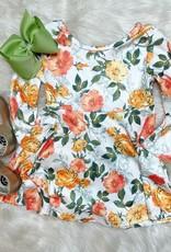Honeydew Samantha Dress in Green Floral