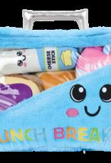 Iscream Lunch Break Furry and Fleece Pillow