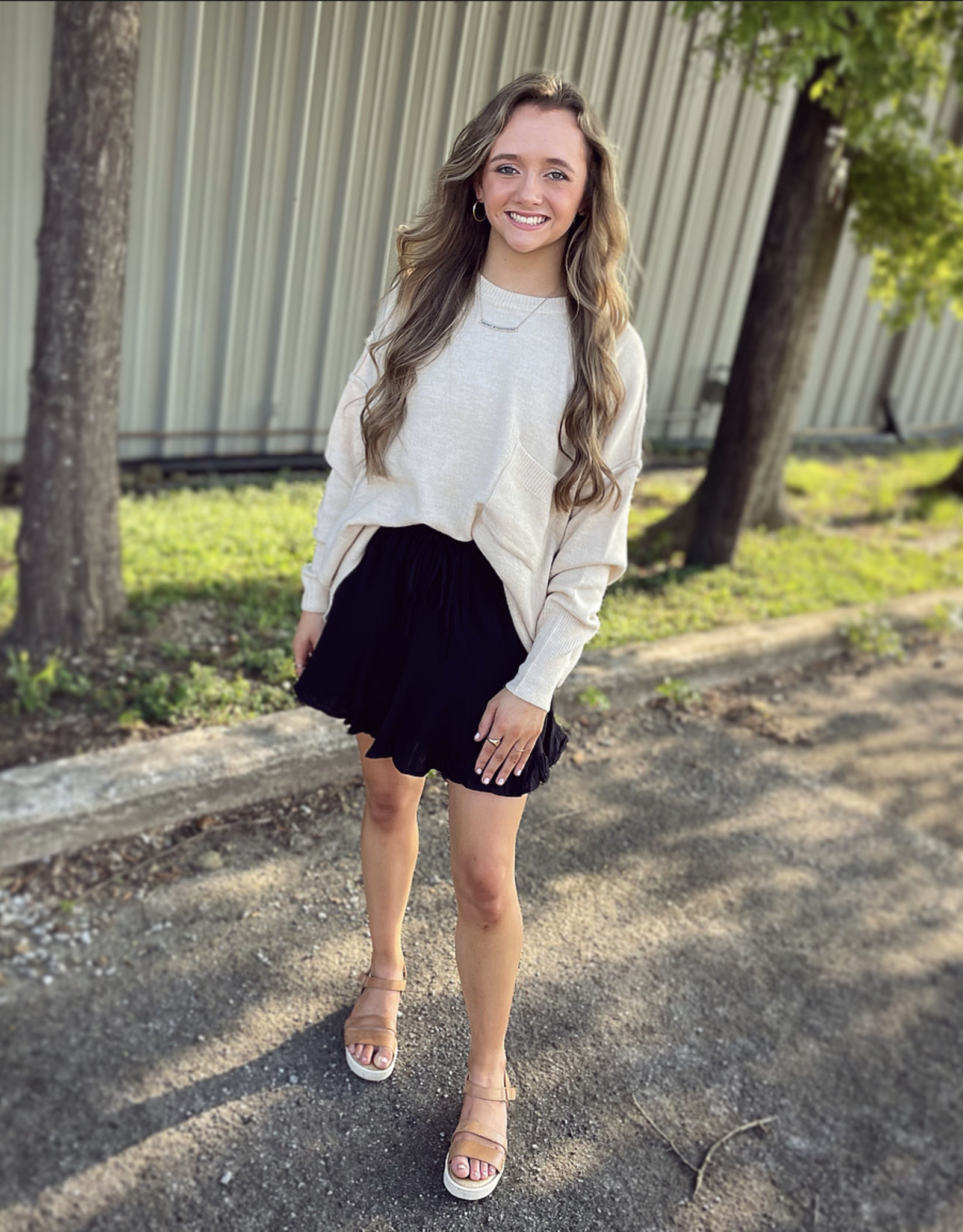 Katie Skirt in Black