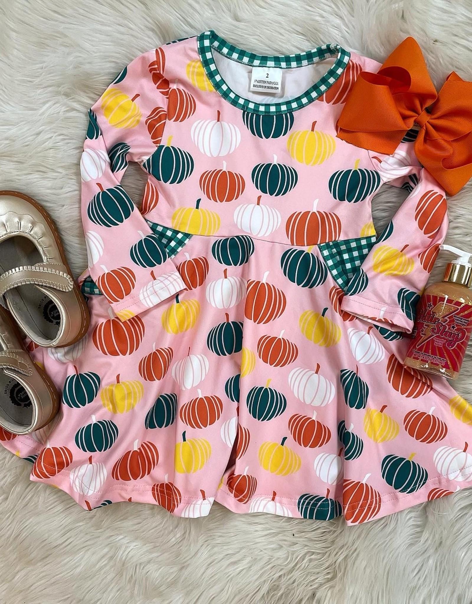 Honeydew Aubrey Pumpkin Dress