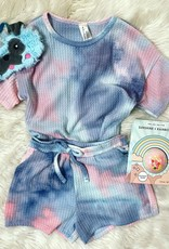 Lily Lounge Set in Pink TieDye