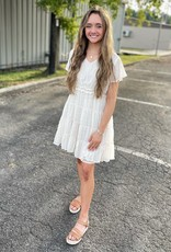 Hayden Amanda Dress in Cream