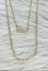 MAMA double Necklace