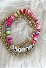 Smile Bracelet Set in Multi