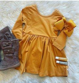 RuffleButts Honey Twirl Dress