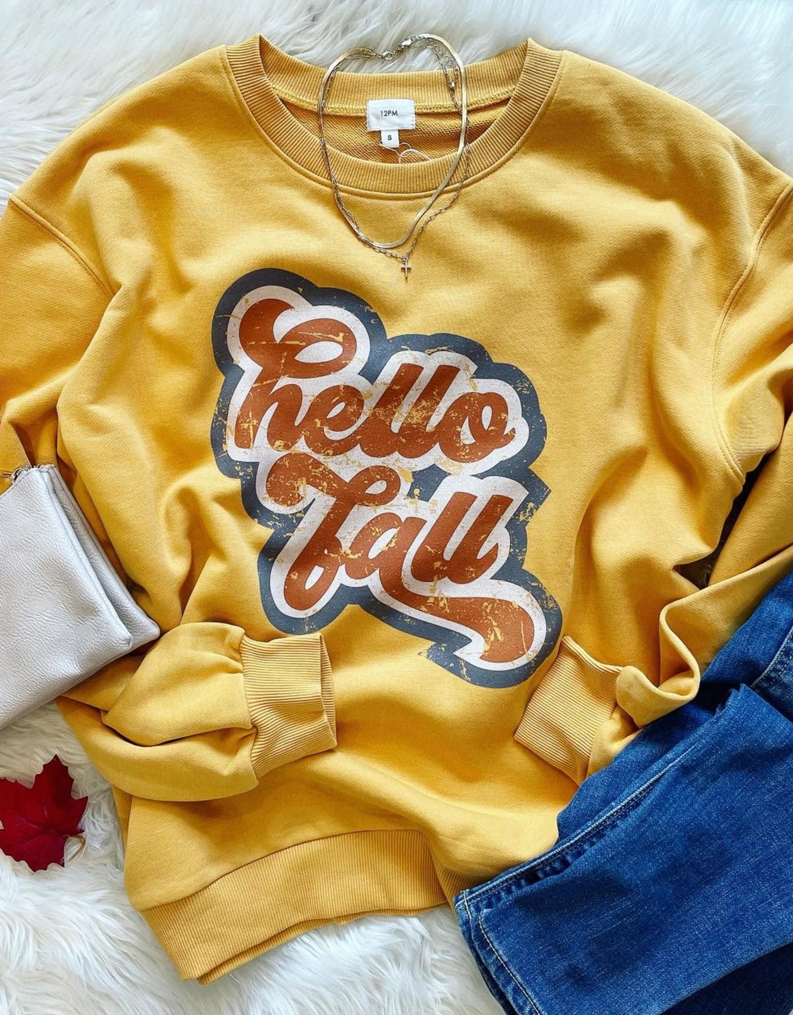Hello Fall Sweatshirt
