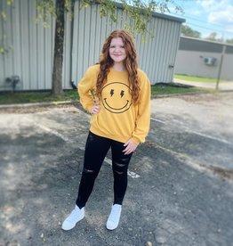 Smiley Face Sweatshirt