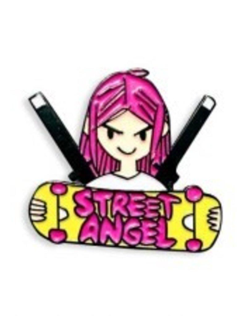Yesterdays Co Street Angel Pin