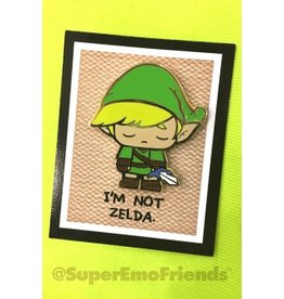Super Emo Friends Wink Enamel Pin